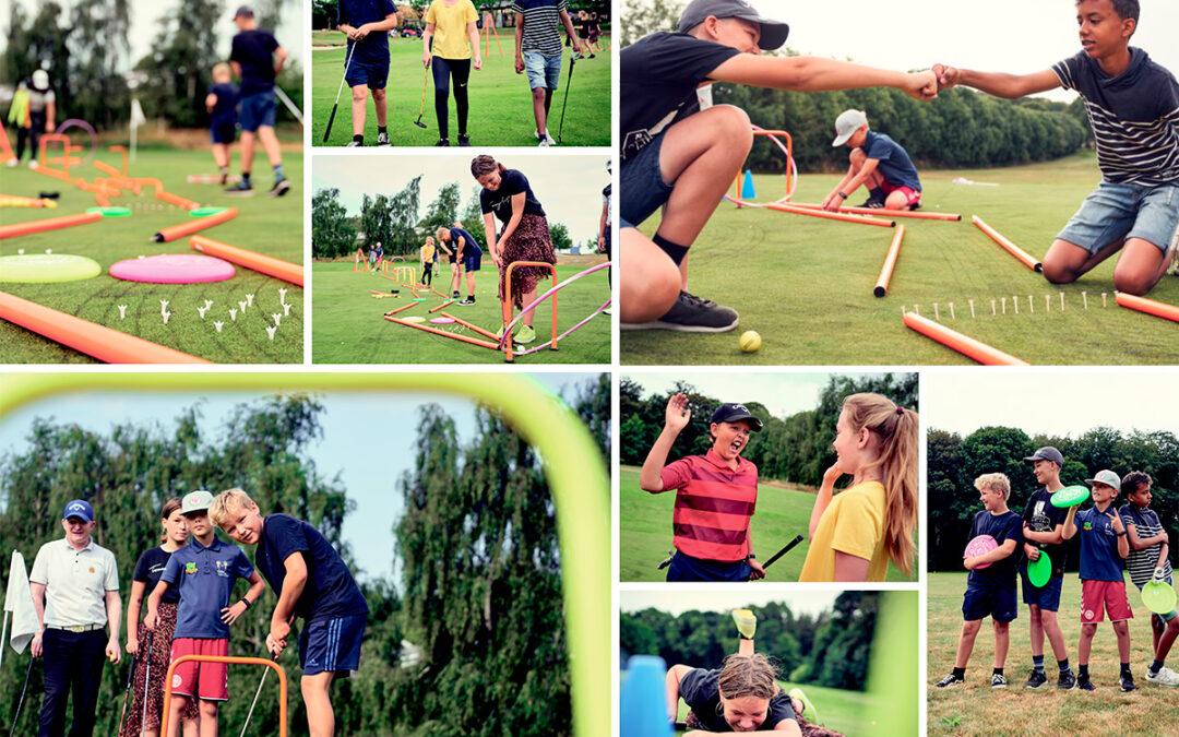 Golf-Træf for juniorer i Hornbæk Golfklub