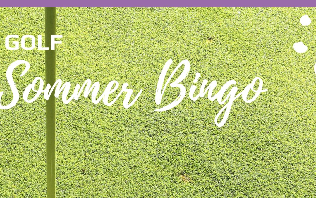 Golf Sommer Bingo – sæt i gang!