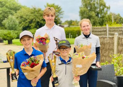 Klubmesterskab vindere af 2021 - Hillerød Golf Klub